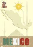 Conjunto de México stock de ilustración