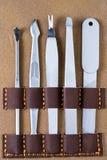 Conjunto de manicura Fotografía de archivo