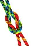 Conjunto de nudos de la cuerda Fotos de archivo
