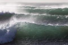 Conjunto de ondas Foto de archivo libre de regalías