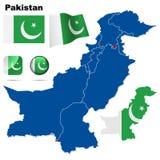 Conjunto de Paquistán. Foto de archivo