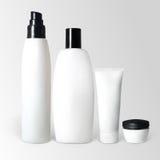Conjunto de productos cosméticos Fotografía de archivo