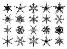 Conjunto de reglas del ornamento del vector Imagen de archivo