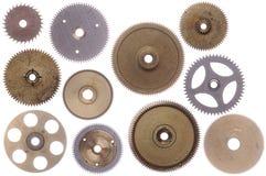 Conjunto de ruedas dentadas Fotos de archivo libres de regalías