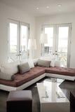 Conjunto de sala de estar moderno Fotografía de archivo