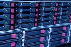 Conjunto de servidor do Internet Imagens de Stock Royalty Free
