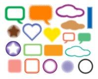 Conjunto de símbolos Imagen de archivo libre de regalías