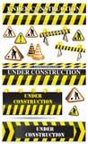 Conjunto de suspiros de la construcción