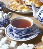 Conjunto de té Fotos de archivo