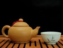 Conjunto de té Fotos de archivo libres de regalías