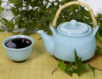 Conjunto de té Foto de archivo libre de regalías