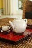 Conjunto de té chino Fotos de archivo