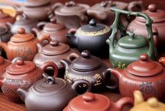 Conjunto de té chino Foto de archivo libre de regalías