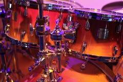 Conjunto de tambores Imagen de archivo libre de regalías