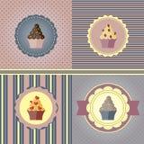 Conjunto de tarjetas del día de fiesta libre illustration
