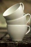 Conjunto de tazas Fotografía de archivo libre de regalías