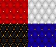 Conjunto de texturas de la pared de la cubierta inconsútil Imagen de archivo libre de regalías