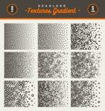 Conjunto de texturas inconsútiles ilustración del vector