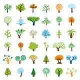 Conjunto del árbol Foto de archivo libre de regalías