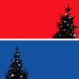 Conjunto del árbol de navidad, elementos para el diseño Fotos de archivo