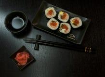 Conjunto del alimento de Japanise Imagenes de archivo