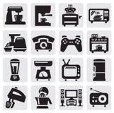 Conjunto del aparato electrodoméstico Fotos de archivo libres de regalías