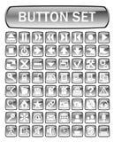 Conjunto del botón Imágenes de archivo libres de regalías