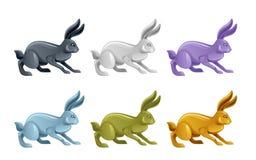 Conjunto del conejo libre illustration