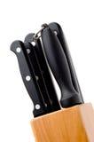 Conjunto del cuchillo Imagenes de archivo