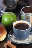 Conjunto del desayuno Foto de archivo