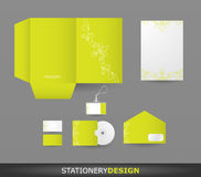 Conjunto del diseño del papel Fotos de archivo libres de regalías