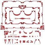 Conjunto del elemento de la planta para el diseño Fotografía de archivo libre de regalías