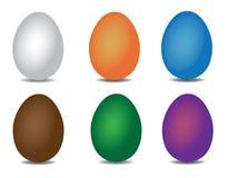 Conjunto del huevo de Pascua Fotos de archivo