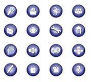 Conjunto del icono Imágenes de archivo libres de regalías