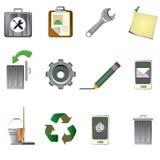 Conjunto del icono del Internet Imágenes de archivo libres de regalías