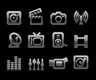 Conjunto del icono del vector Imágenes de archivo libres de regalías