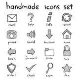 Conjunto del icono del Web Foto de archivo libre de regalías