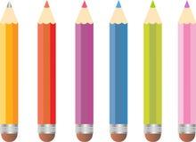 Conjunto del lápiz del color Foto de archivo libre de regalías