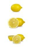 Conjunto del limón Fotografía de archivo libre de regalías