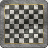Conjunto del lujo de la tarjeta de ajedrez Imágenes de archivo libres de regalías