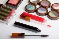 Conjunto del maquillaje Fotos de archivo