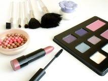Conjunto del maquillaje Imágenes de archivo libres de regalías