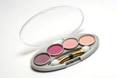 Conjunto del maquillaje Foto de archivo libre de regalías
