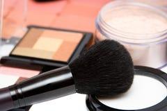 Conjunto del maquillaje imagen de archivo