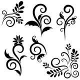 Conjunto del ornamento para el diseño stock de ilustración