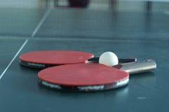Conjunto del ping-pong Imagen de archivo