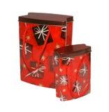 Conjunto del regalo de la Navidad Foto de archivo libre de regalías