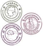 Conjunto del sello Imagen de archivo libre de regalías