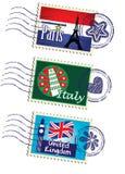 Conjunto del sello Imágenes de archivo libres de regalías