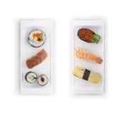 Conjunto del sushi fotografía de archivo libre de regalías